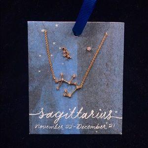 Anthropologie Constellation Necklace Sagittarius